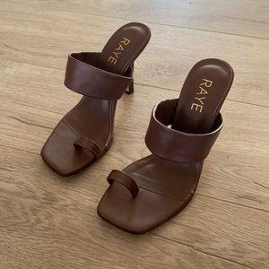 Raye Sandals via Revolve